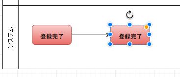 draw.io-接続線付きで図形を配置した例